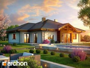 Проект дома ARCHON+ Дом в лобо (Г2) ver.2