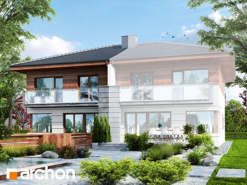 Проект дома ARCHON+ Вилла Юлия (Б) - Визуализация 2