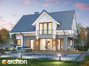 Проект дома ARCHON+ Дом в орлишках (Г2A)
