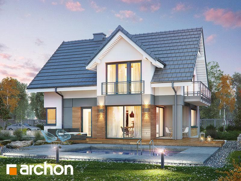 Проект дома ARCHON+ Дом в орлишках (Г2A) - Визуализация 1