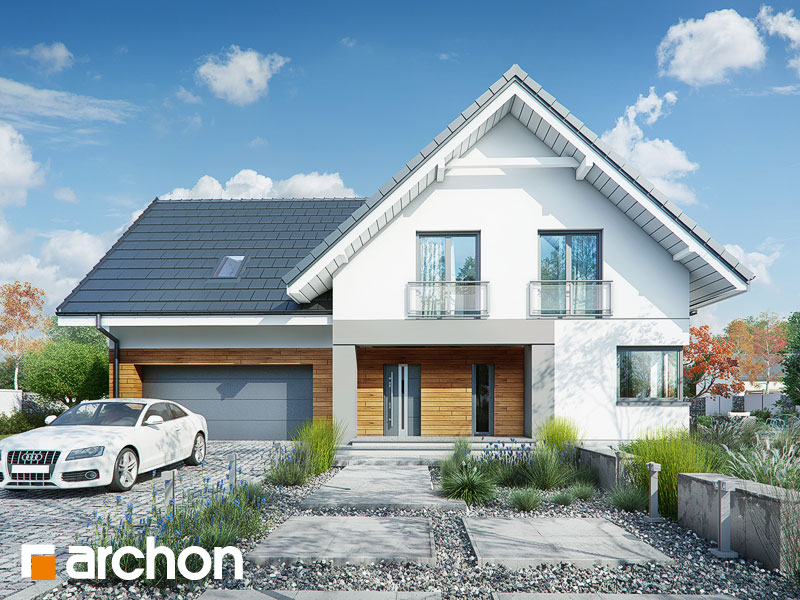Проект дома ARCHON+ Дом в орлишках (Г2A) - Визуализация 2