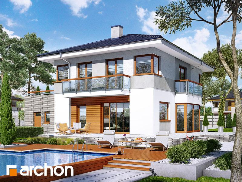 Проект дома ARCHON+ Вилла Адрианна - Визуализация 1