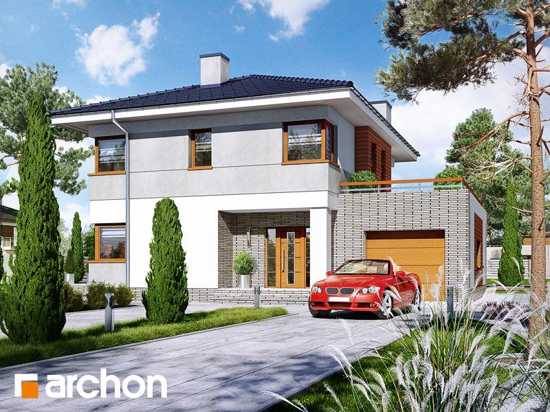 Проект дома ARCHON+ Вилла Адрианна - Визуализация 2