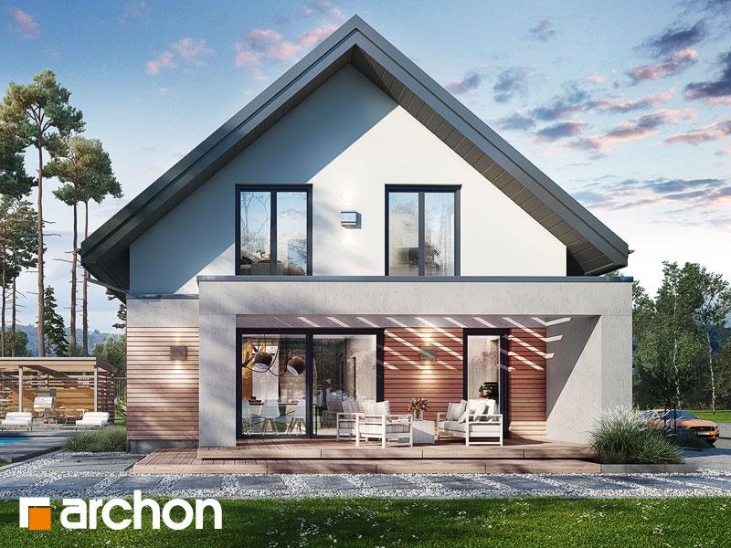 Проект дома ARCHON+ Дом в мандевилле 2 - Визуализация 1