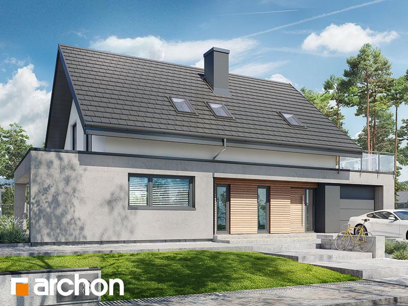 Проект дома ARCHON+ Дом в мандевилле 2 - Визуализация 2