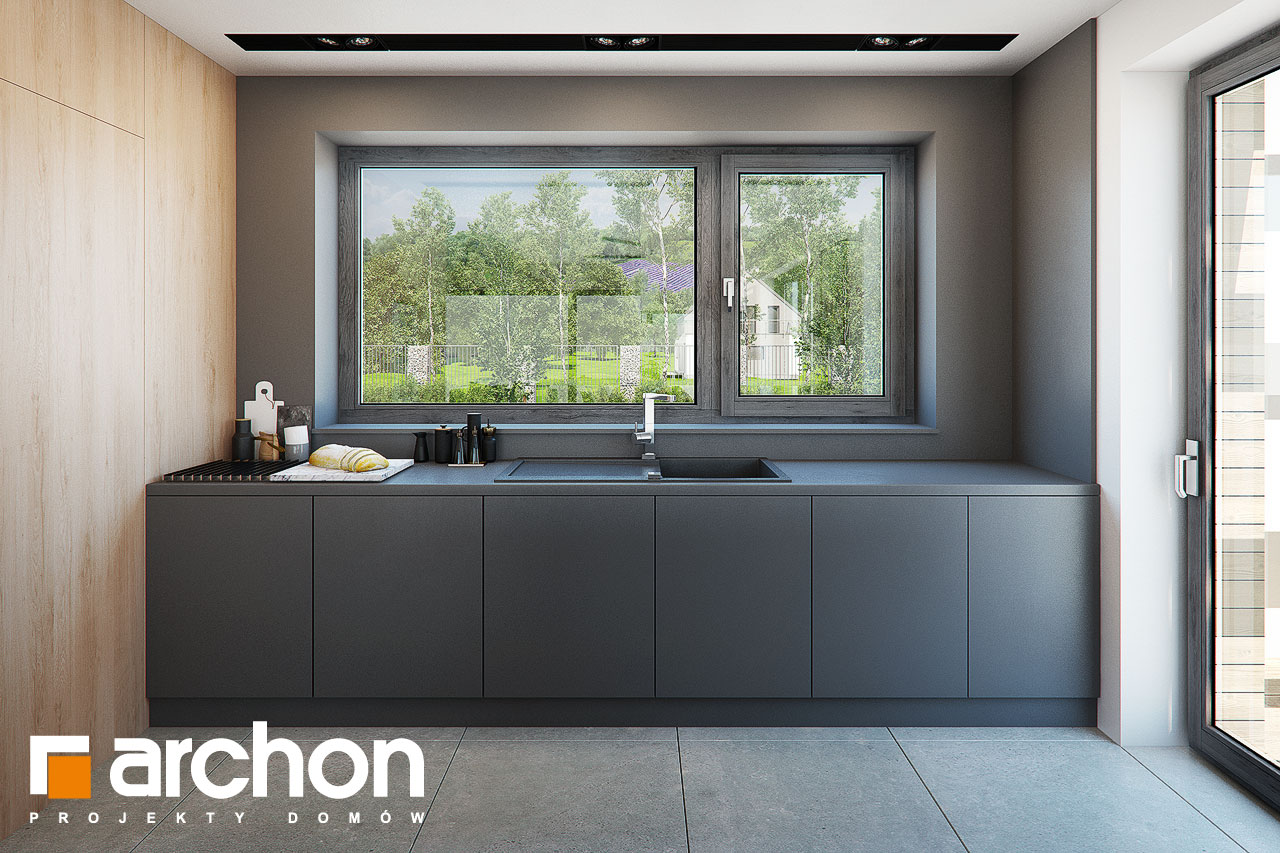 Проект дома ARCHON+ Дом в мандевилле 2 - Интерьеры