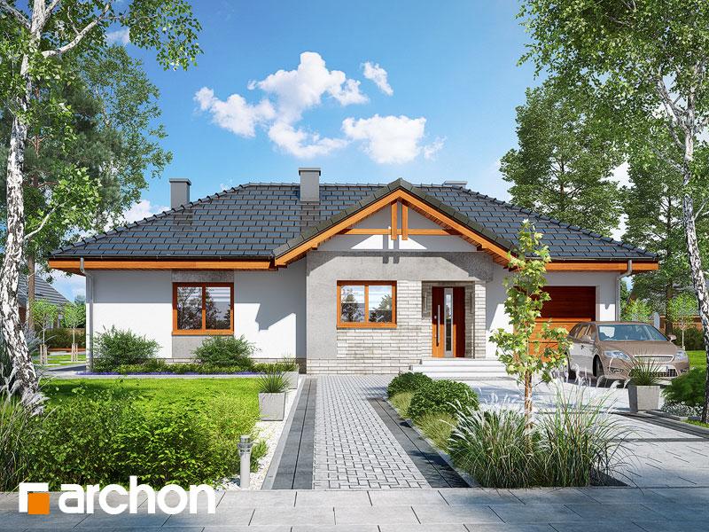 Проект дома ARCHON+ Дом в неринах 5 - Визуализация 1