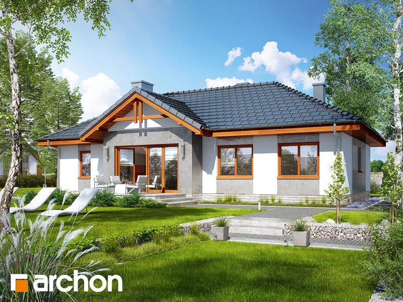 Проект дома ARCHON+ Дом в неринах 5 - Визуализация 2