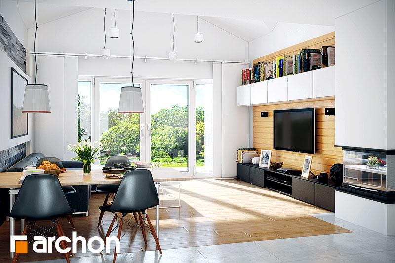 Проект дома ARCHON+ Дом в неринах 5 - Интерьеры