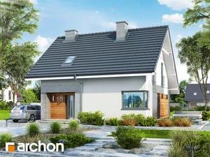 Проект дома ARCHON+ Дом в малиновках 2