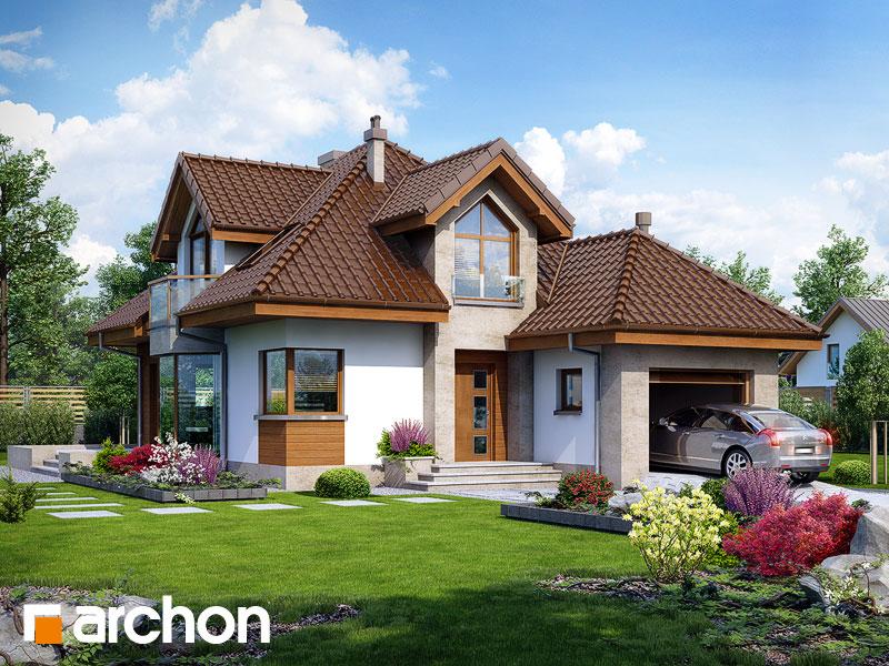 Дом в рукколе (H) - Визуализация 1