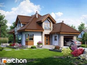 Проект дома ARCHON+ Дом в рукколе (H)