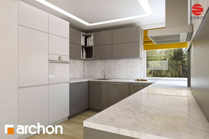 Проект дома ARCHON+ Дом в рукколе (H) - Интерьеры