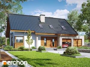 Проект дома ARCHON+ Дом в гейджее (Г2А)