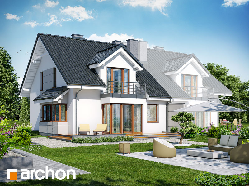 Дом в клематисах 7 (Б) ver.3 - Визуализация 2