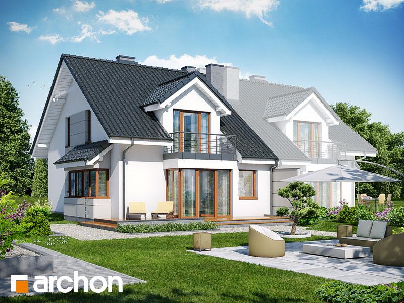 Проект дома ARCHON+ Дом в клематисах 7 (Б) ver.3 - Визуализация 2
