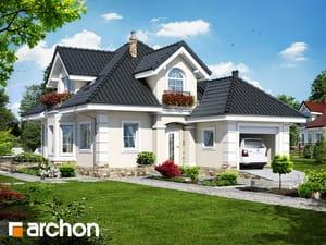 Проект дома ARCHON+ Дом в рукколе (П)
