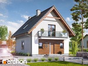Проект дома ARCHON+ Дом в сон-траве 3