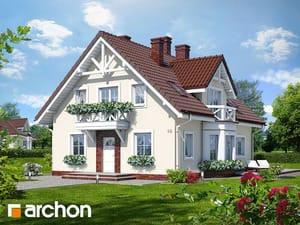 Проект дома ARCHON+ Дом под калиной ver.2