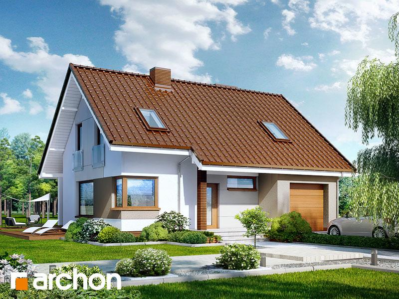 Проект дома ARCHON+ Дом в журавках ver.2 - Визуализация 1