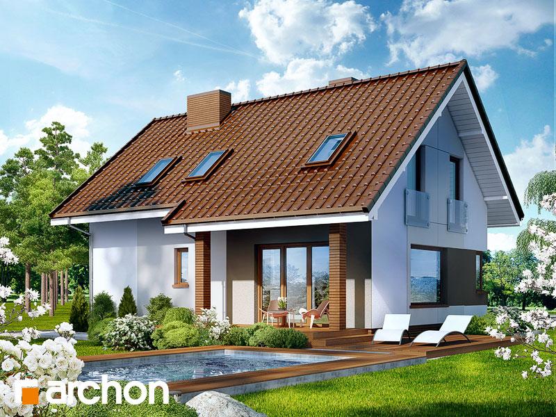 Проект дома ARCHON+ Дом в журавках ver.2 - Визуализация 2