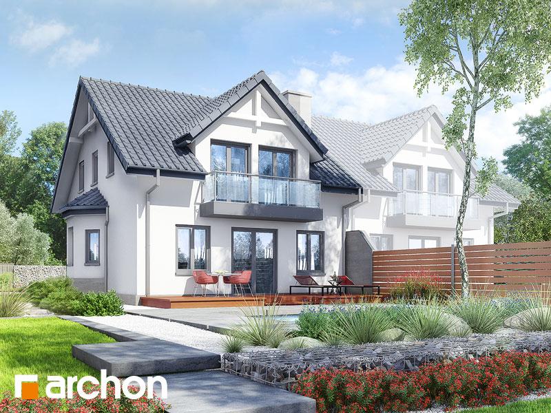 Проект дома ARCHON+ Дом в клематисах 2 ver.3 - Визуализация 2