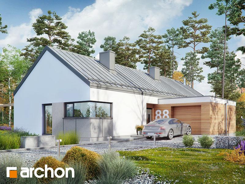 Проект дома ARCHON+ Дом в  анабеллях - Визуализация 1