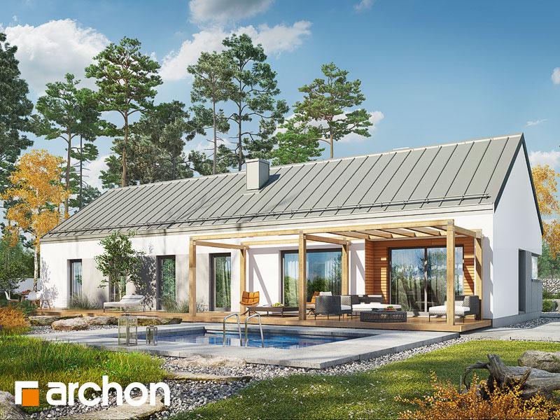 Проект дома ARCHON+ Дом в  анабеллях - Визуализация 2