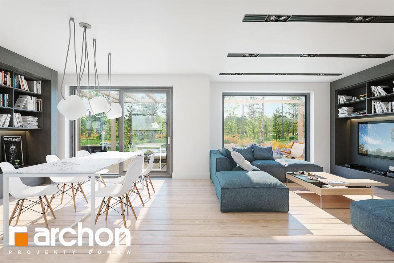Проект дома ARCHON+ Дом в  анабеллях - Интерьеры