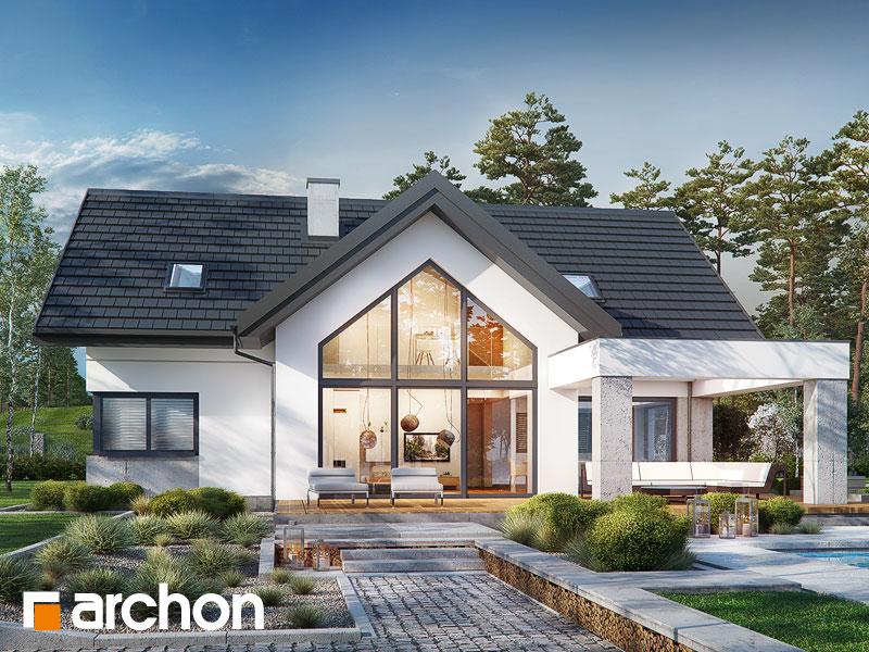 Проект дома ARCHON+ Дом в фелициях (Г2) - Визуализация 1