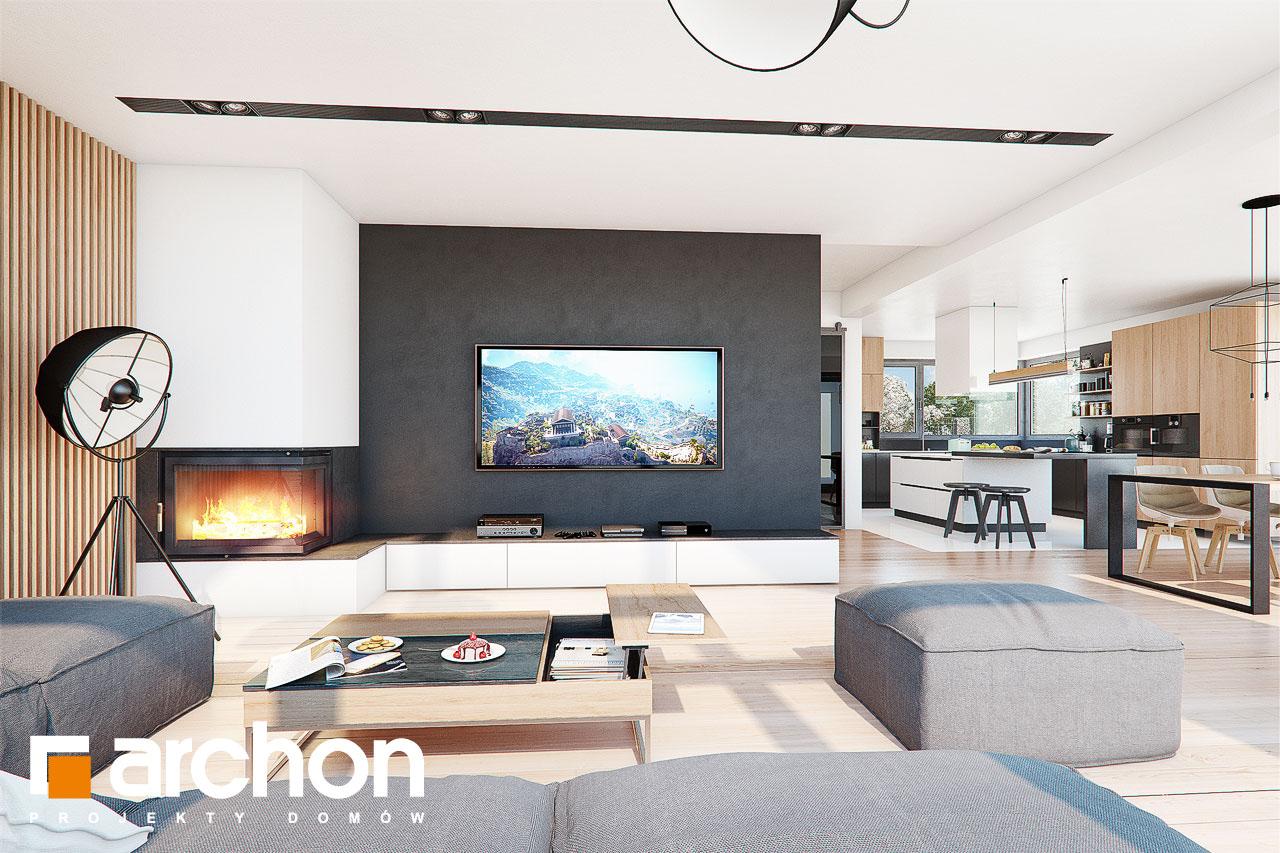 Проект дома ARCHON+ Дом в фелициях (Г2) - Интерьеры