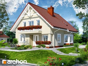 Проект дома ARCHON+ Дом в кувшинках