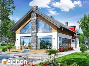 Проект дома ARCHON+ Дом в лаврах (Г2П)