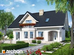 Проект дома ARCHON+ Дом в авокадо 2