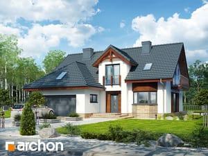 Проект дома ARCHON+ Дом в каллатеях 7 (Г2)