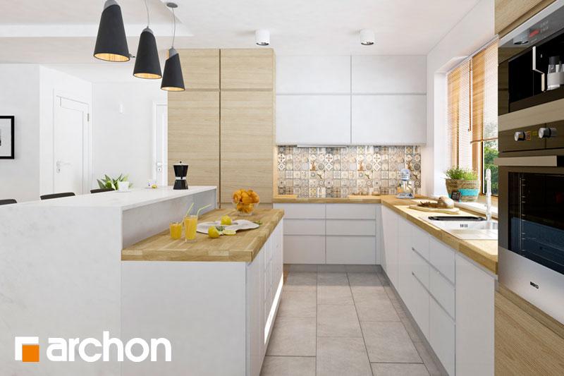 Проект дома ARCHON+ Дом в раванах - Интерьеры