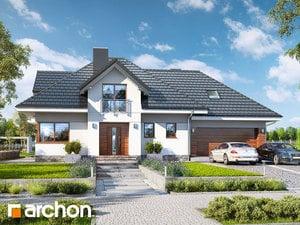 Проект дома ARCHON+  Дом в сливах 2 (Г2)