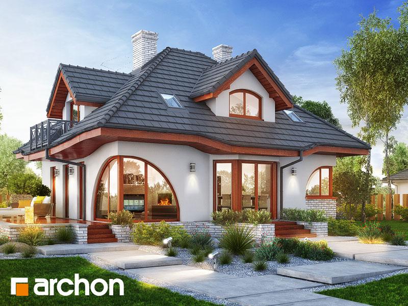 Проект дома ARCHON+ Дом в зефирантесе 5 (П) - Визуализация 1