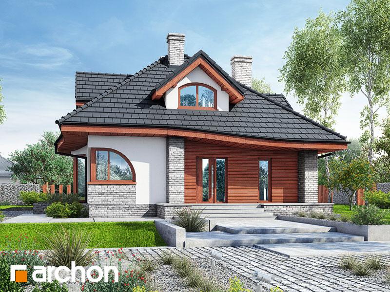 Проект дома ARCHON+ Дом в зефирантесе 5 (П) - Визуализация 2