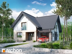 Проект дома ARCHON+ Дом в миловонках 2