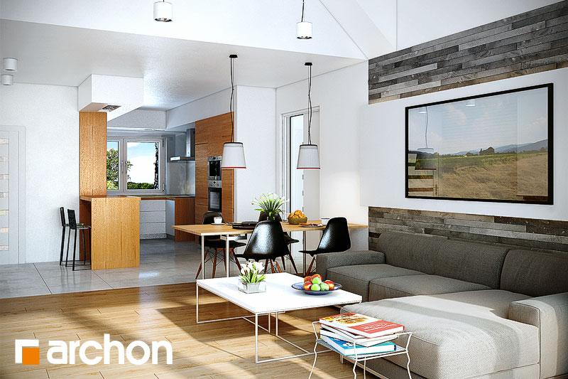 Проект дома ARCHON+ Дом в неринах ver.2 - Интерьеры