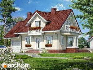 Проект дома ARCHON+   Дом в перловнике ver.3