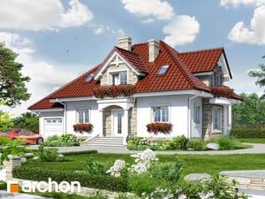 Проект дома ARCHON+ Дом в каллах