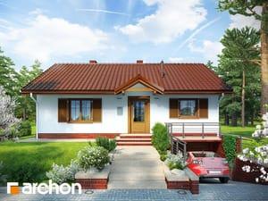 Проект дома ARCHON+ Дом в ежевике