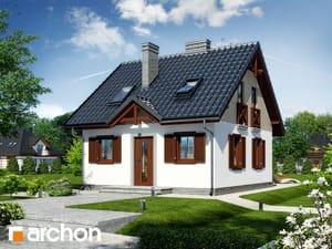 Проект дома ARCHON+ Дом в бруснике