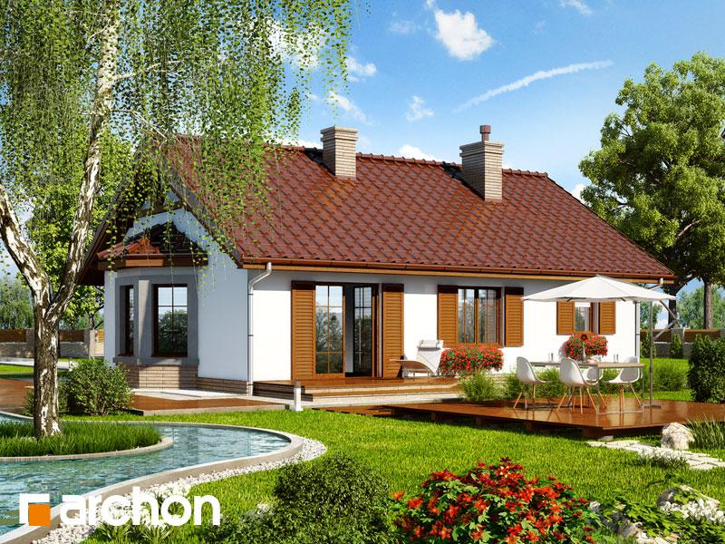 Проект дома ARCHON+ Дом в ягодах 2 - Визуализация 2