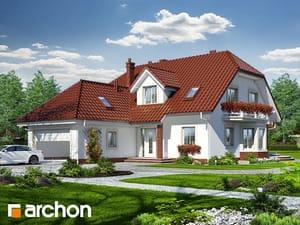 Проект дома ARCHON+ Дом под даглезией