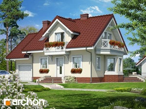 Проект дома ARCHON+ Дом в перловнике ver.2