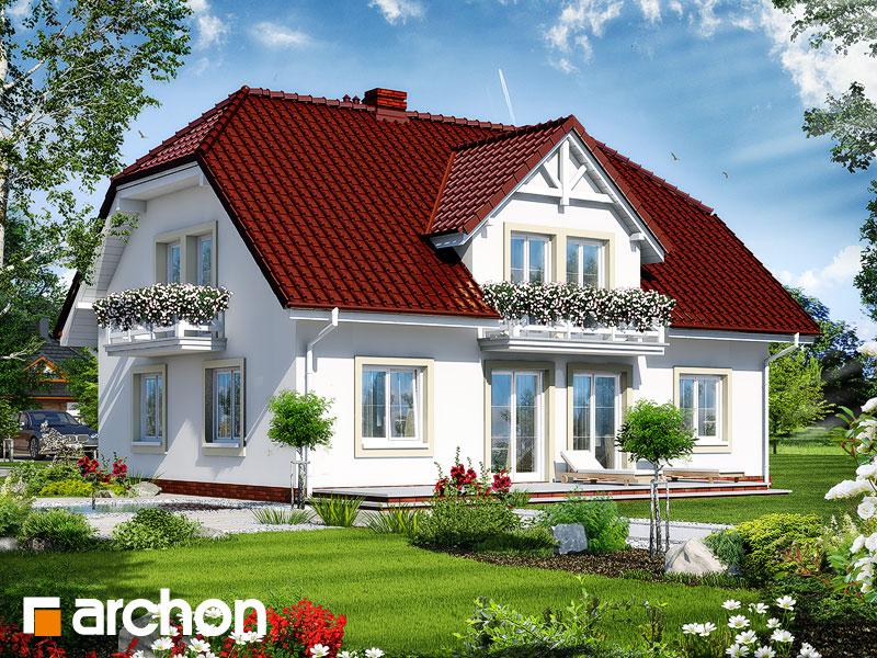 Дом в гладиолусах 2 - Визуализация 2