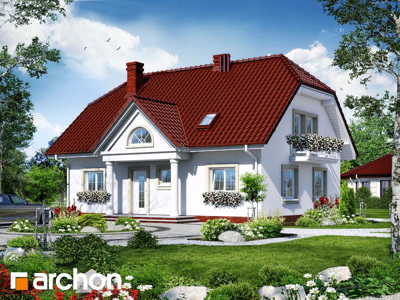 Проект дома ARCHON+ Дом в гладиолусах 2 - Визуализация 1